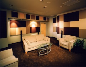 SCR Fabric Wrapped Panels Steven Kleins Sound Control Room Inc