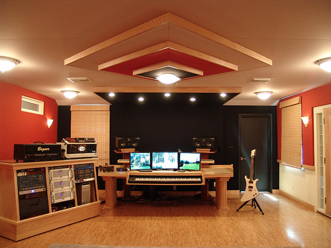 Design Considerations For Recording Studios : Steven Klein\'s Sound ...