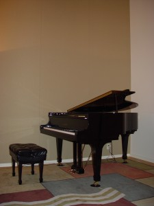 Piano and Wall After Treatment for Nancy Arnold