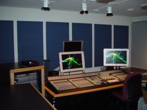 Monitor Wall After Treatment for Warner Brothers