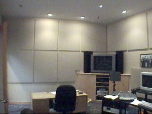 Left Wall of Production Space for Bay Films