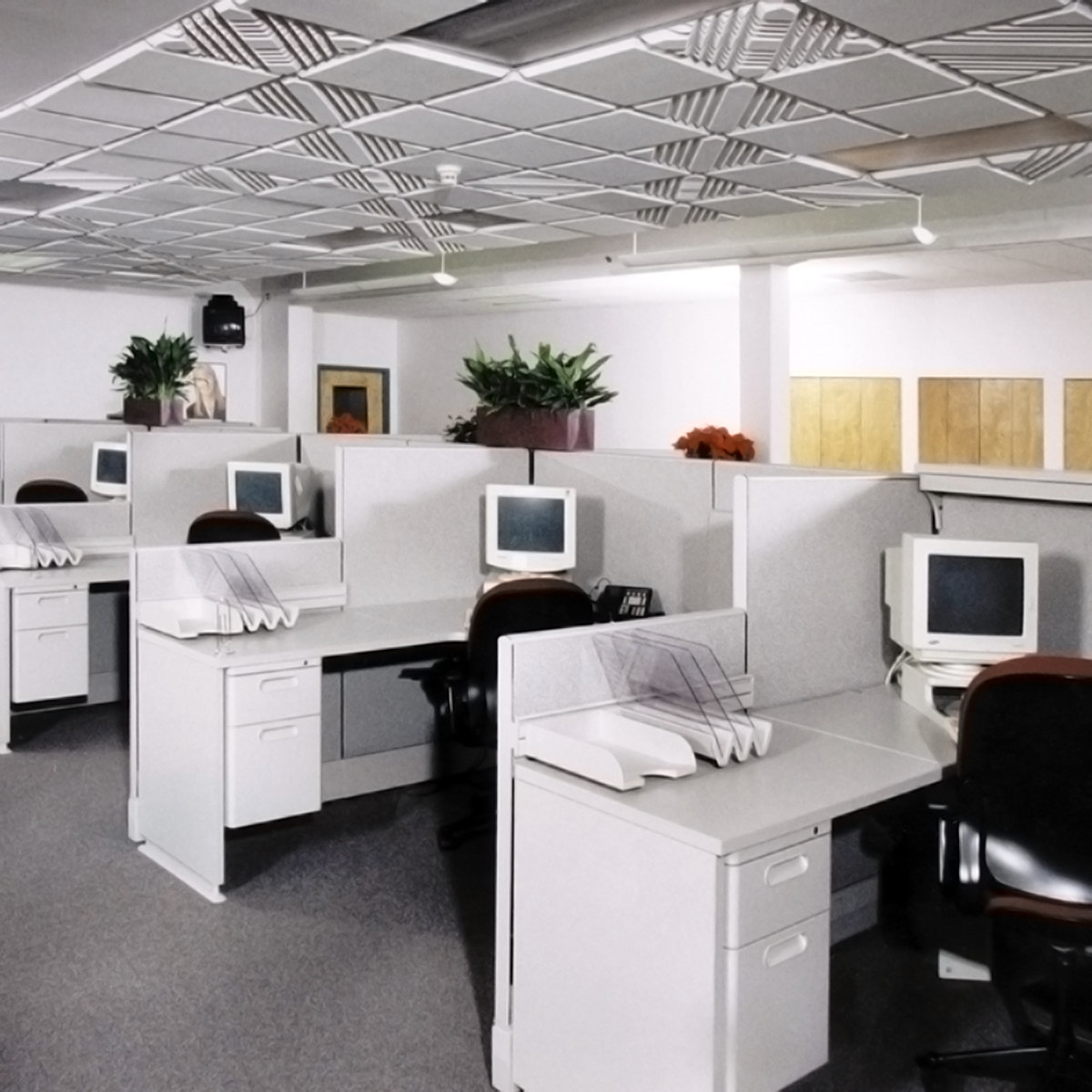Contour ceiling tiles steven kleins sound control room inc contour ceiling tile installation sample 5 doublecrazyfo Choice Image