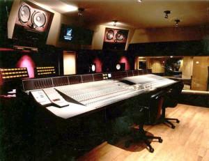 Studio 1 Control Room for Larrabee Studios