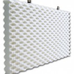 Hanging Baffle in White
