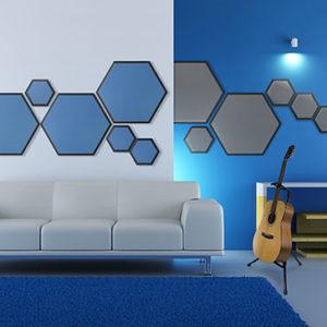 Hex Foam Panel Residential Installation