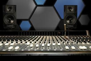 Hex Foam Panel Studio Installation