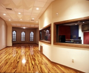 Tracking Room for M-Pire Recording Studio