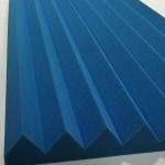 Linear Wedge Foam Blue