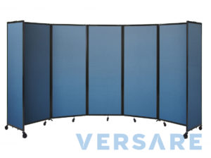 Room divider 360 Articulating Partition
