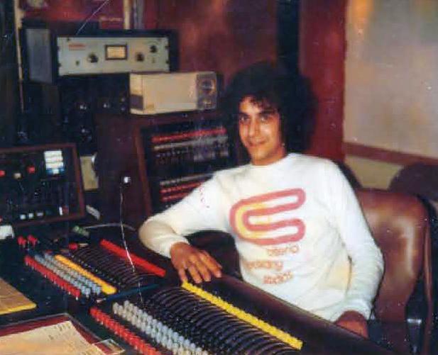 Steven Klein at Criteria Studio B, Circa 1975