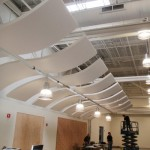 Whisper Wave Installation Open Ceiling Area