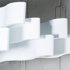 Whisper Wave Ribbon Ceiling Treatment