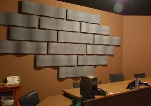 Whisper Wave Ribbon Wall Panel Application