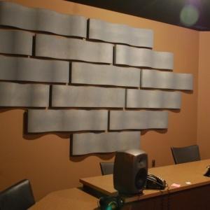 Whisper Wave Ribbon Wall Panel Application