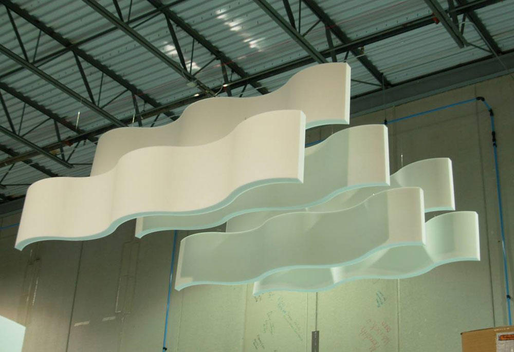 Acoustic Ceiling Clouds Armstrong Cloud Ceiling Tiles