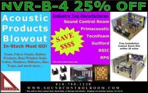 2013 Year End Acoustic Inventory Clearance Sale
