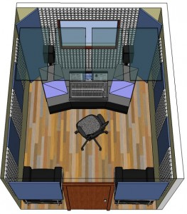 Exceptional Acoustic Room Kit With Fabric Wrapped Panel, Pyramid Foam, Bass Trap, For  Home Part 32