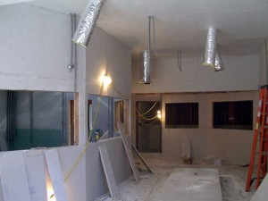 M-Pire Recording Studio Construction Photos