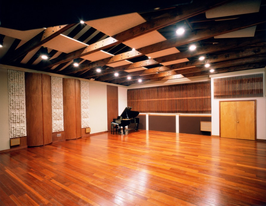 Surround speaker options polk audio for Recording studio flooring