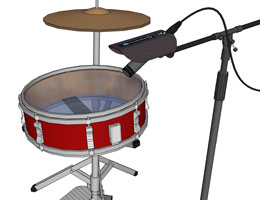 Drum Shield Small Room