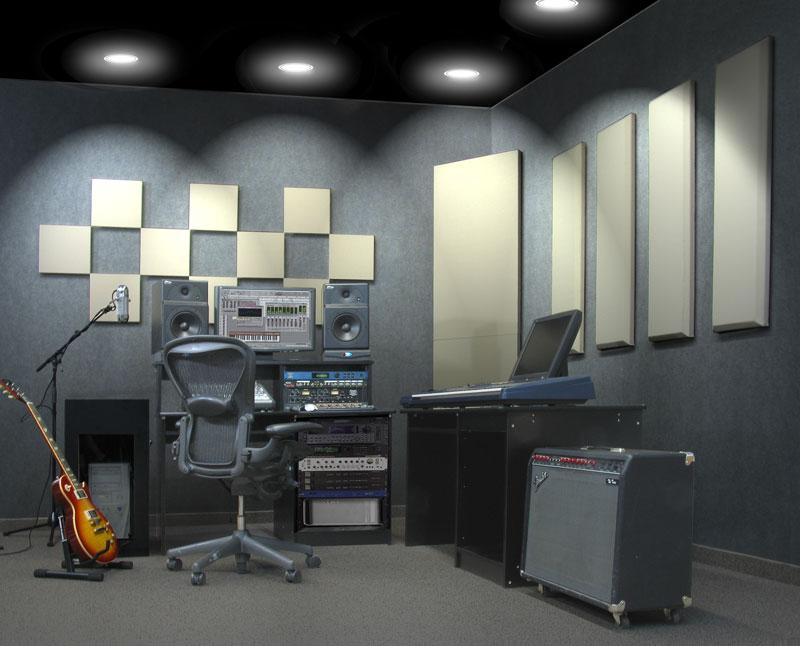 London 12 room kit steven klein s sound control room inc - Sala insonorizzata ...