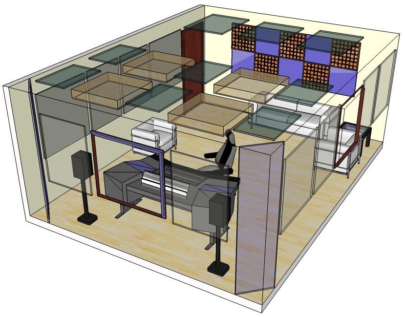home room kits scr studio kit studio a 15 x 20