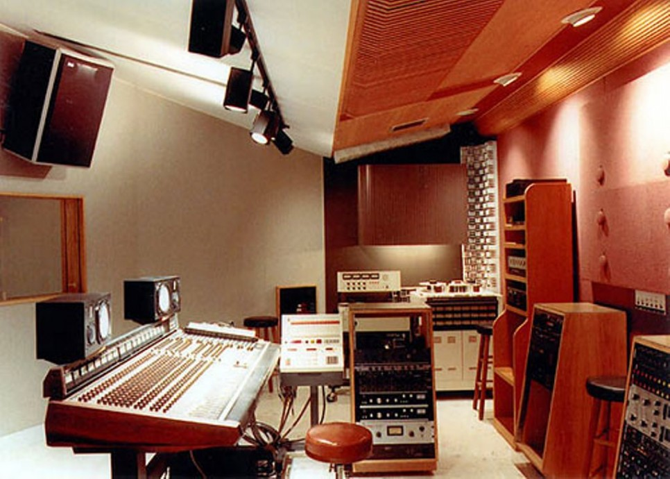 Home Recording Studio Control Room