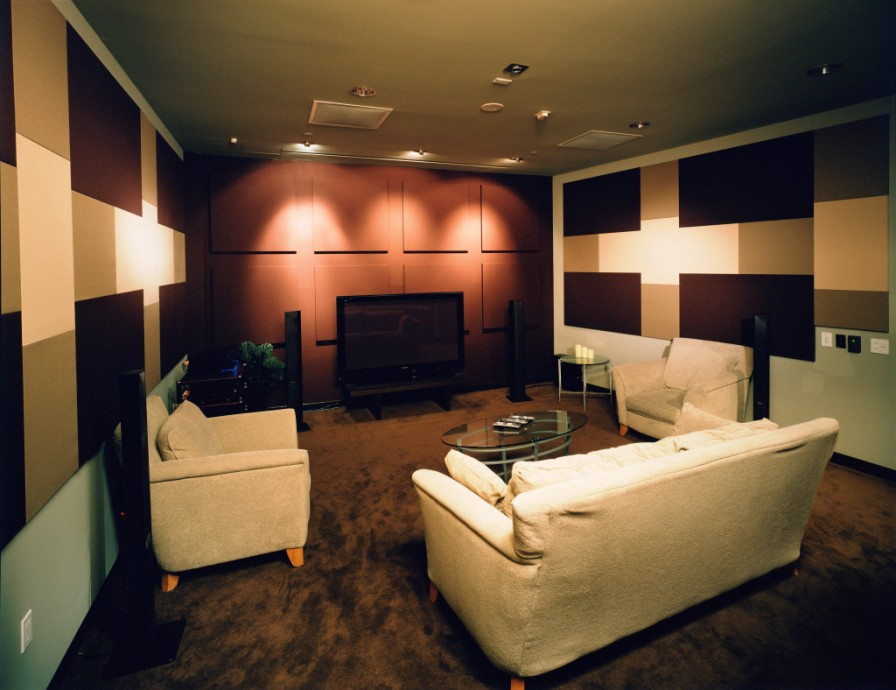 Panasonic research laboratory steven klein s sound control room inc for Living room acoustic treatment
