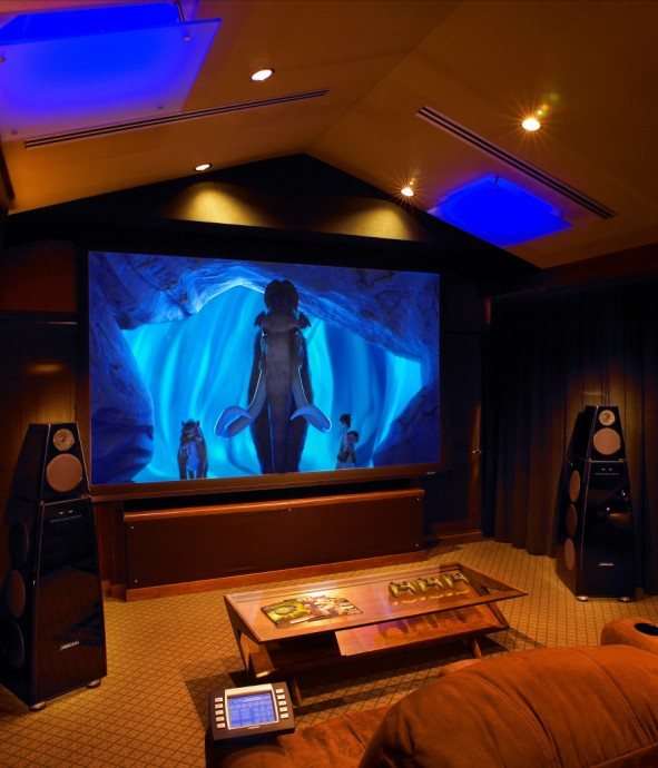 Custom Home Theater Rooms: Wyler Home Theater : Steven Klein's Sound Control Room, Inc