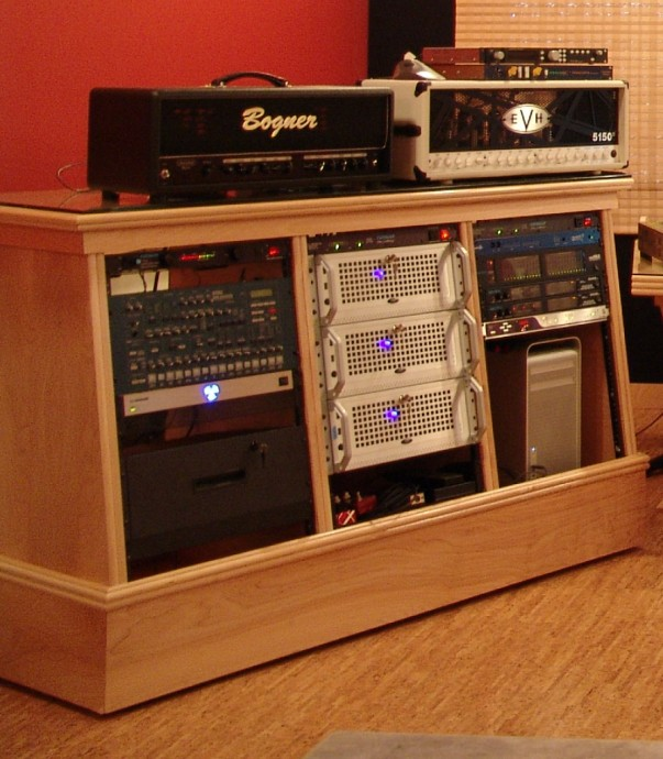 Acoustic Design Custom Equiptment Rack Sound Control Products