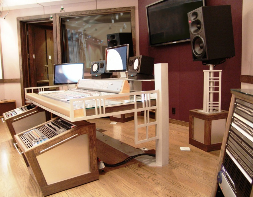 Acoustic Curtains For Studio Recording : Sea vista custom furniture steven klein s sound control