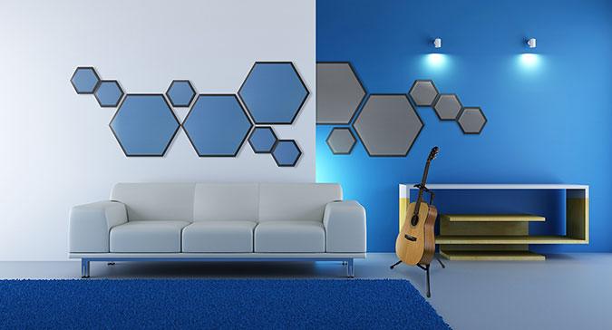 Hex Foam Wall Panel With Vinyl Steven Klein S Sound