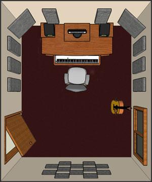 london 12 room kit steven klein s sound control room inc. Black Bedroom Furniture Sets. Home Design Ideas